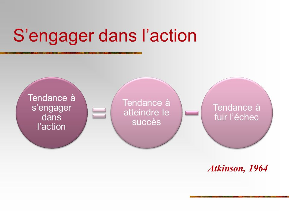 S'engager dans l'action