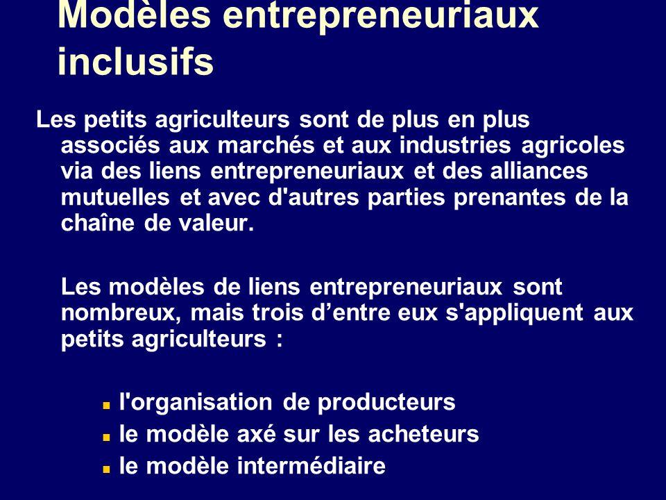 Modèles entrepreneuriaux inclusifs