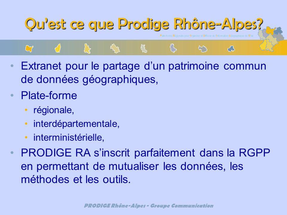 Qu'est ce que Prodige Rhône-Alpes