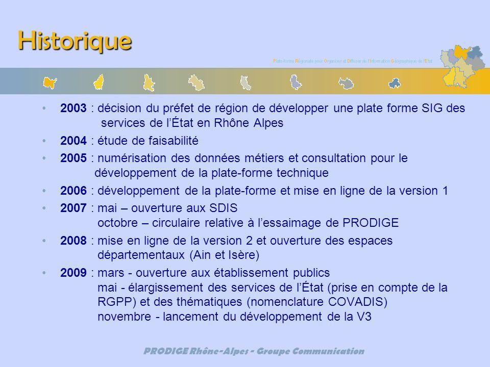 PRODIGE Rhône-Alpes - Groupe Communication