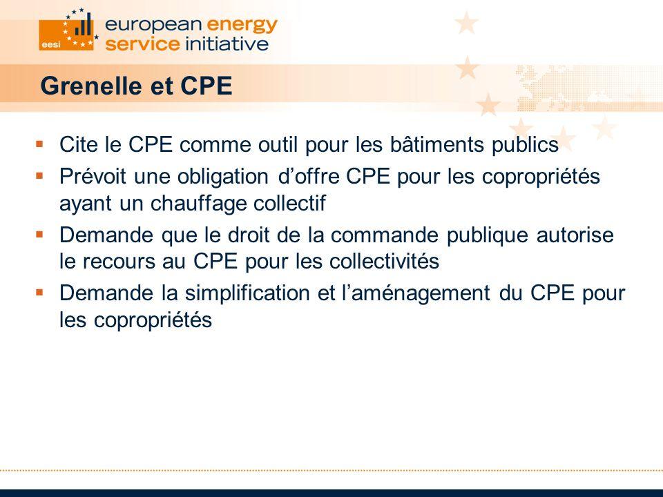 Grenelle et CPE Cite le CPE comme outil pour les bâtiments publics