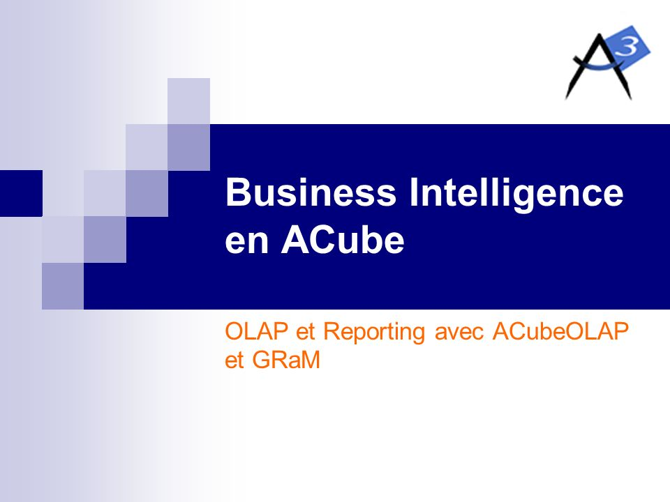 Business Intelligence en ACube
