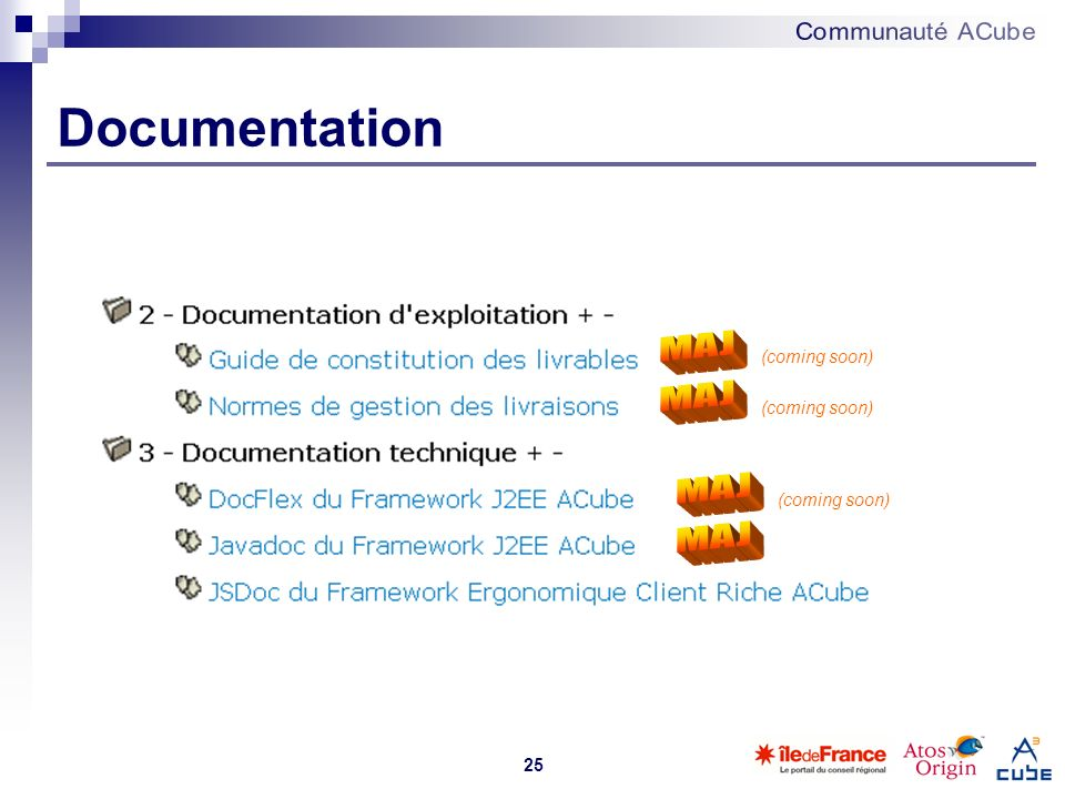 Documentation MAJ MAJ MAJ MAJ (coming soon) (coming soon)