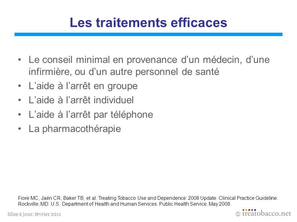 Les traitements efficaces