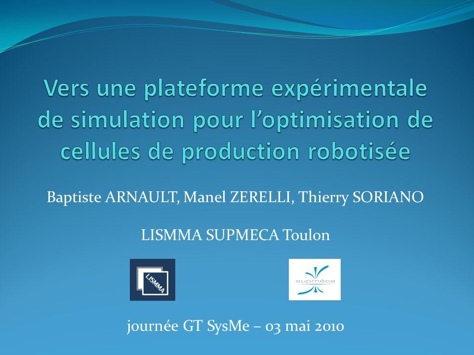 Baptiste ARNAULT, Manel ZERELLI, Thierry SORIANO