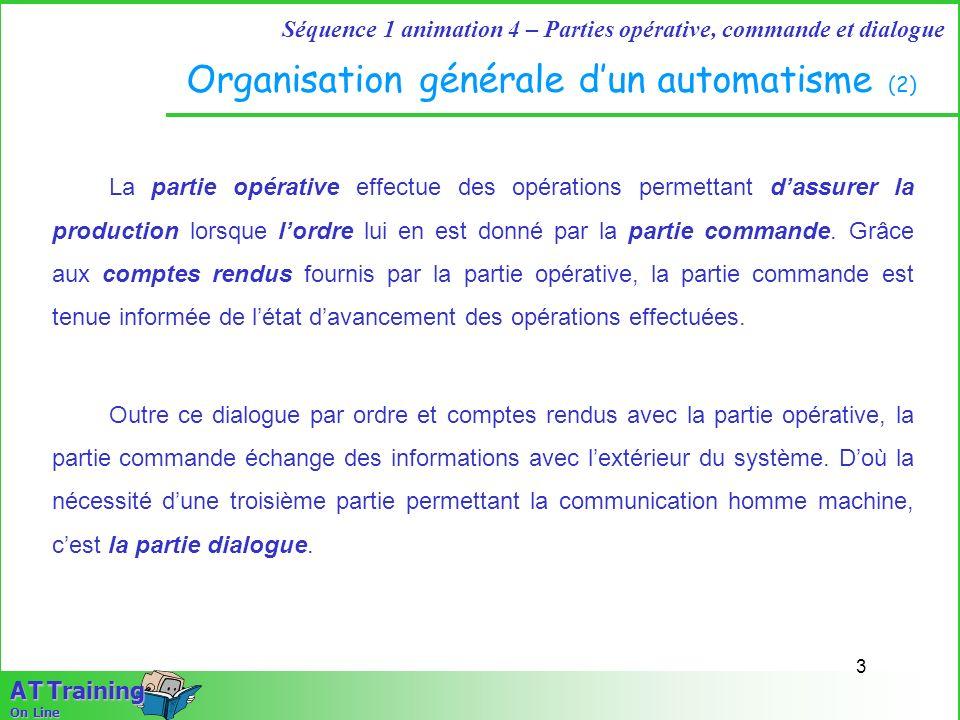 Organisation générale d'un automatisme (2)
