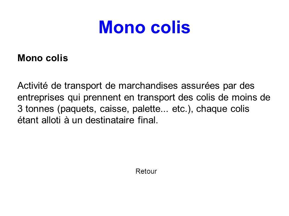Mono colis Mono colis.