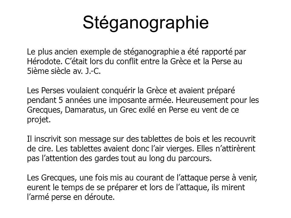 Stéganographie