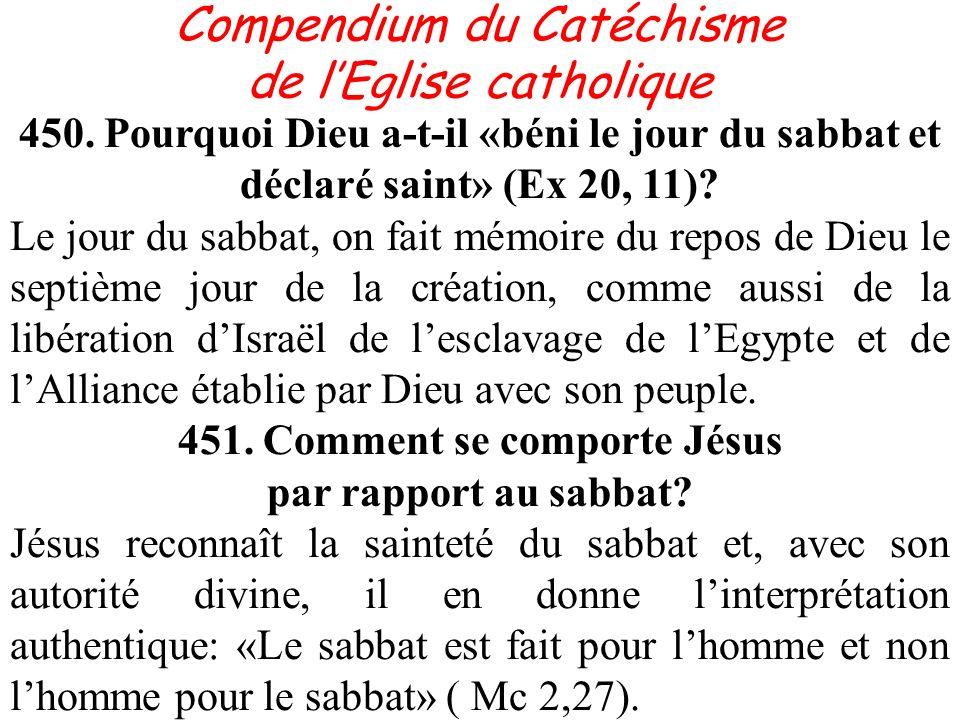 451. Comment se comporte Jésus