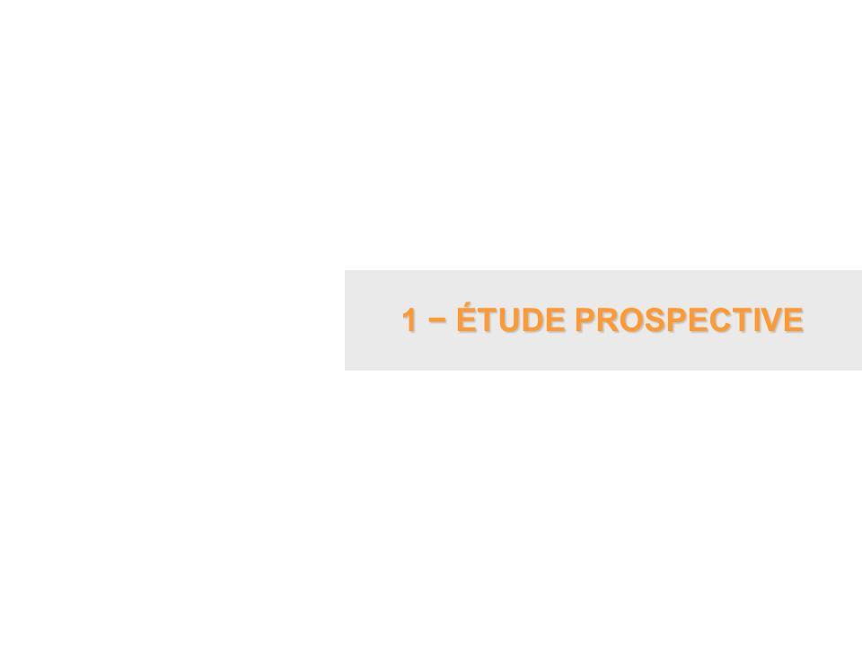 1 − ÉTUDE PROSPECTIVE