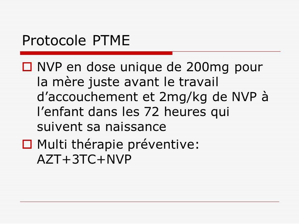 Protocole PTME