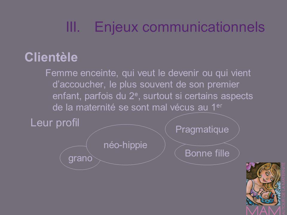 III. Enjeux communicationnels