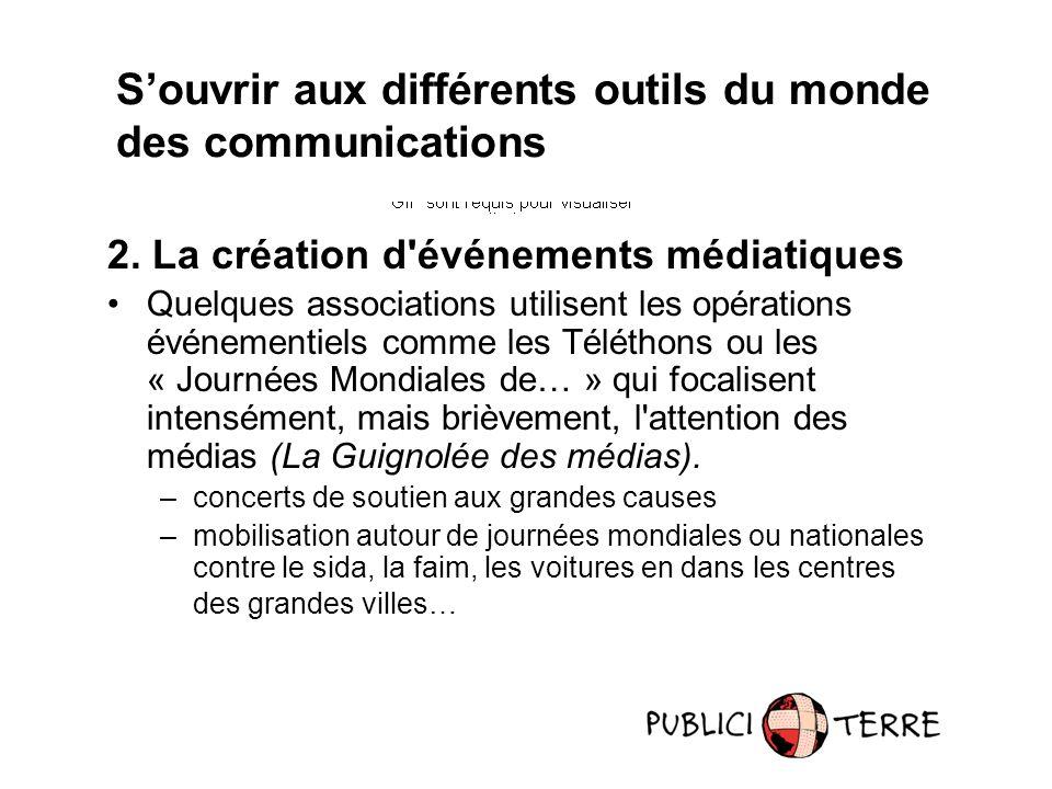 S'ouvrir aux différents outils du monde des communications