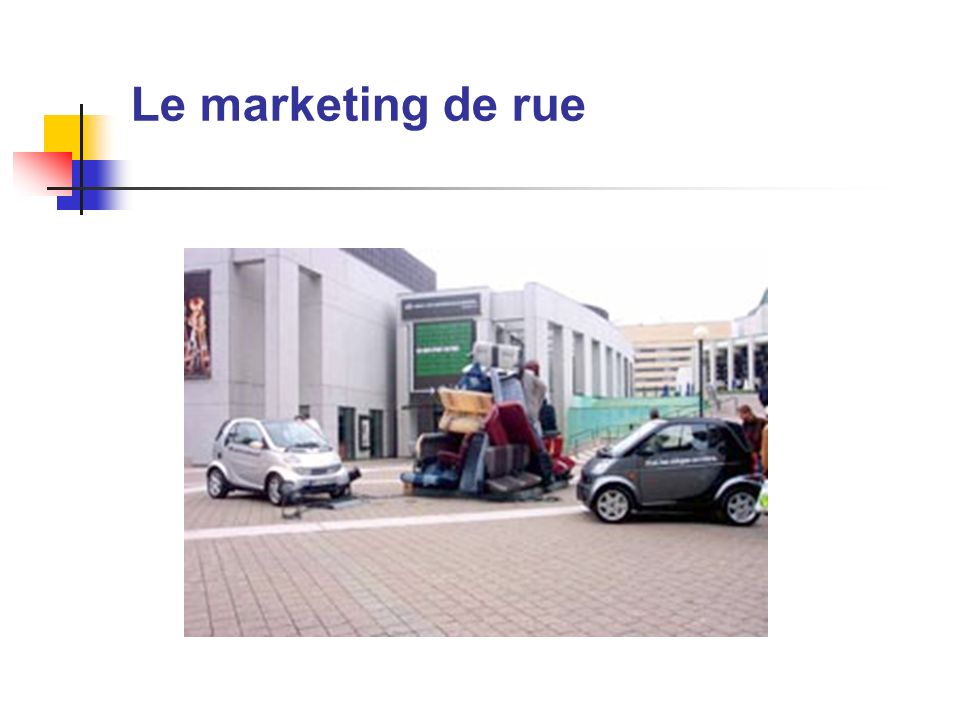 Le marketing de rue