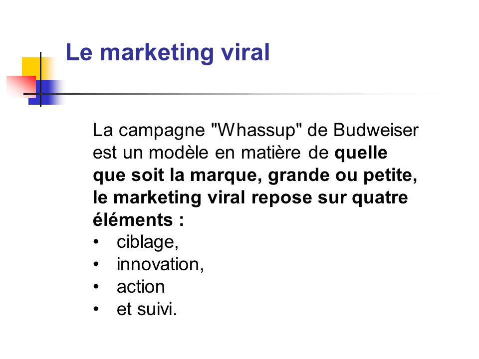 Le marketing viral