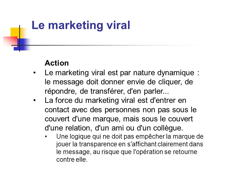 Le marketing viral Action