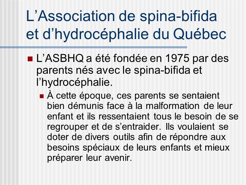 L'Association de spina-bifida et d'hydrocéphalie du Québec