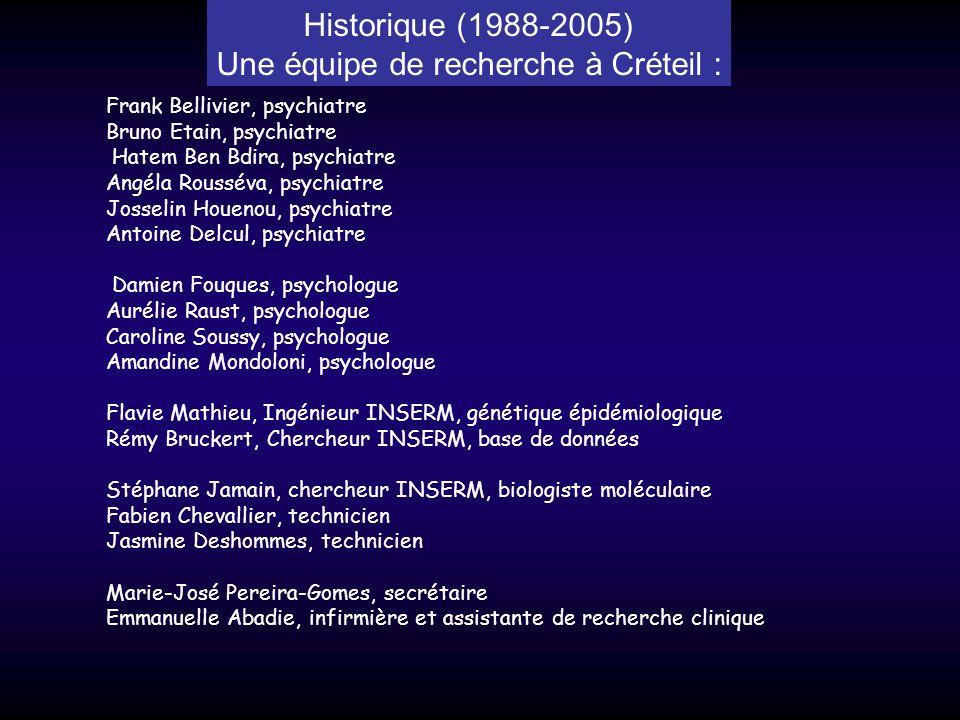 Une équipe de recherche à Créteil :