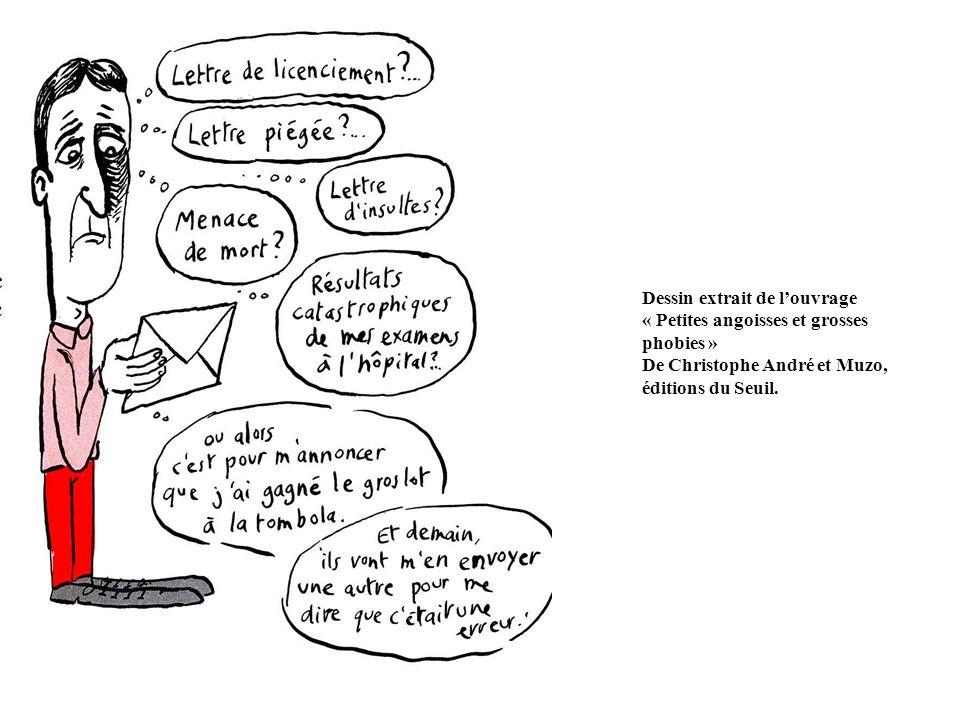 Dessin extrait de l'ouvrage « Petites angoisses et grosses phobies »