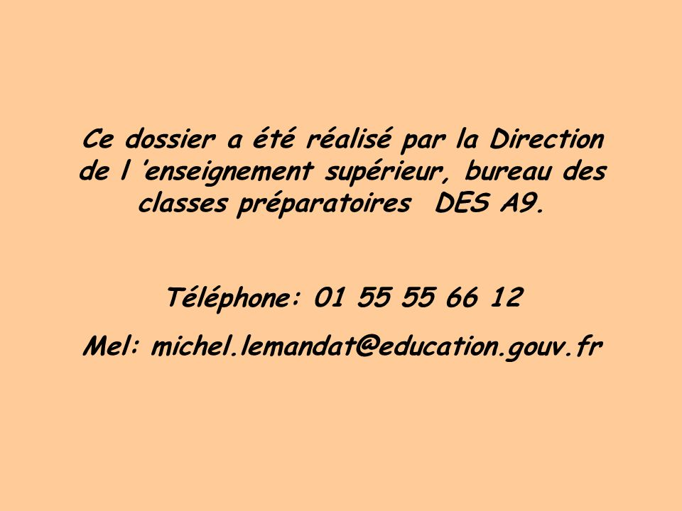 Mel: michel.lemandat@education.gouv.fr