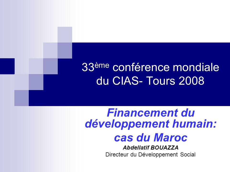 33ème conférence mondiale du CIAS- Tours 2008