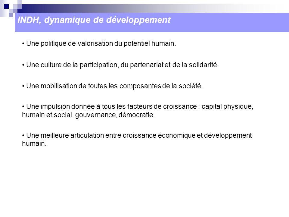 INDH, dynamique de développement