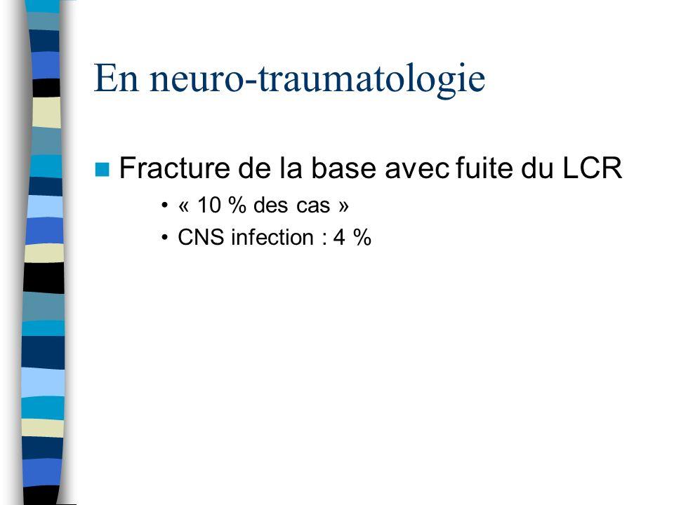 En neuro-traumatologie
