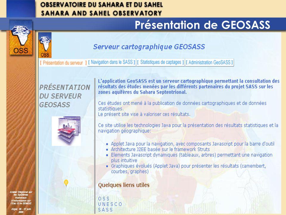 Présentation de GEOSASS