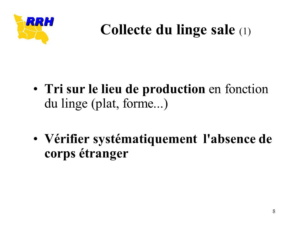 Collecte du linge sale (1)