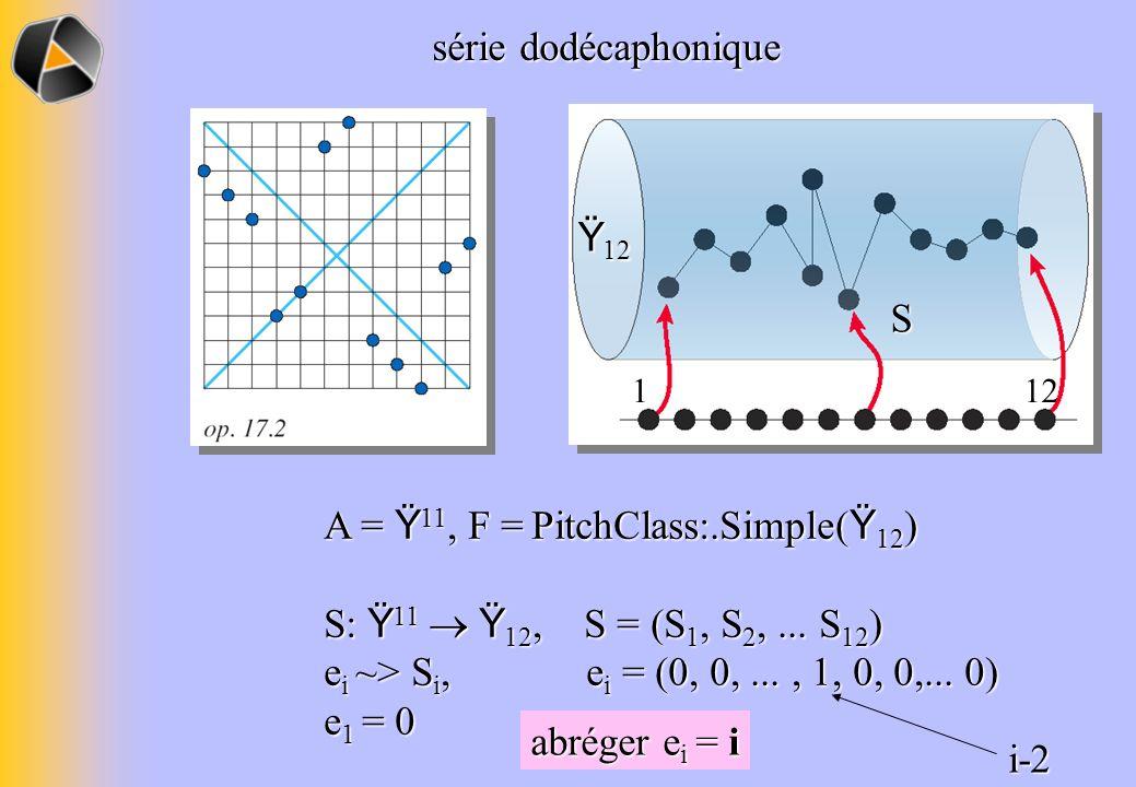 A = Ÿ11, F = PitchClass:.Simple(Ÿ12)