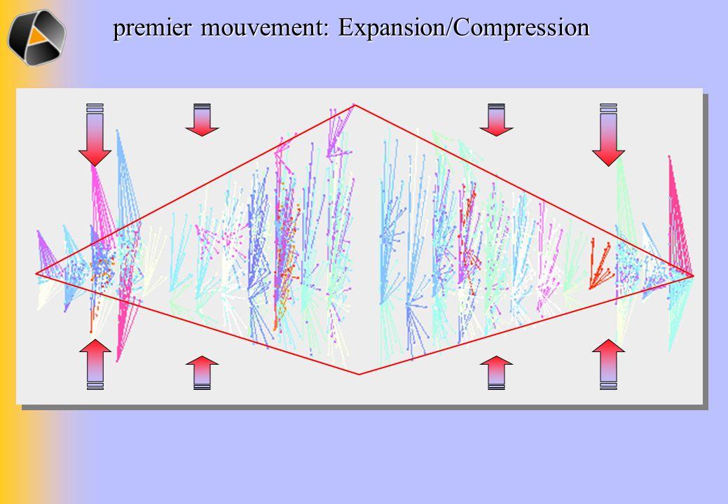 premier mouvement: Expansion/Compression