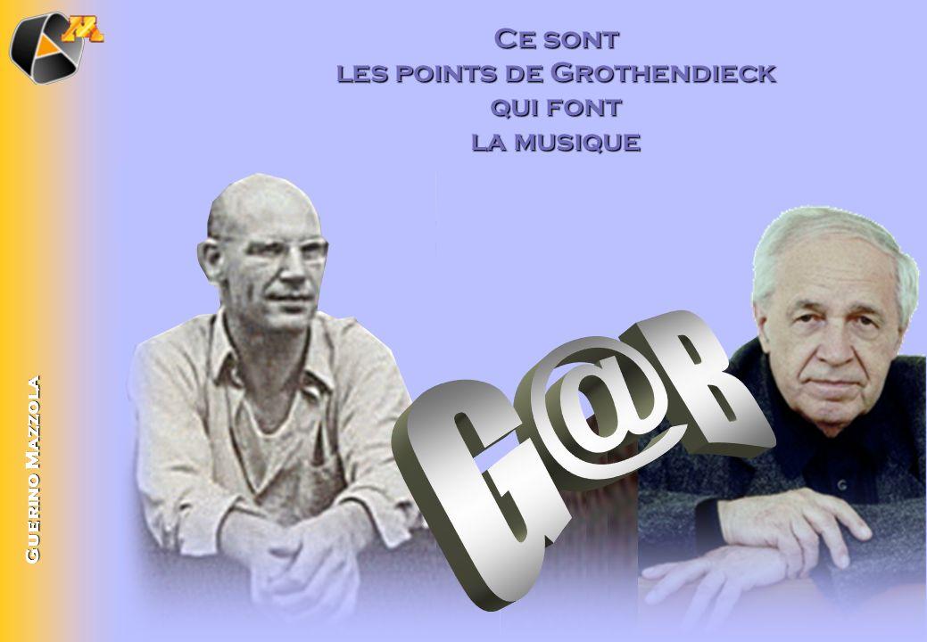 les points de Grothendieck