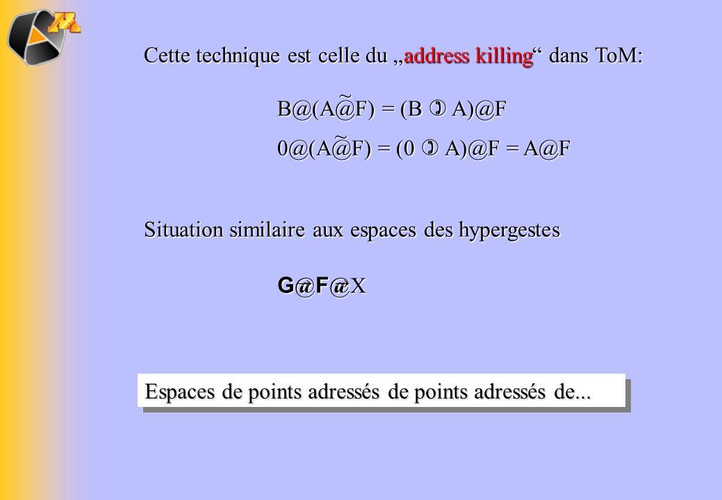 """Cette technique est celle du """"address killing dans ToM:"""