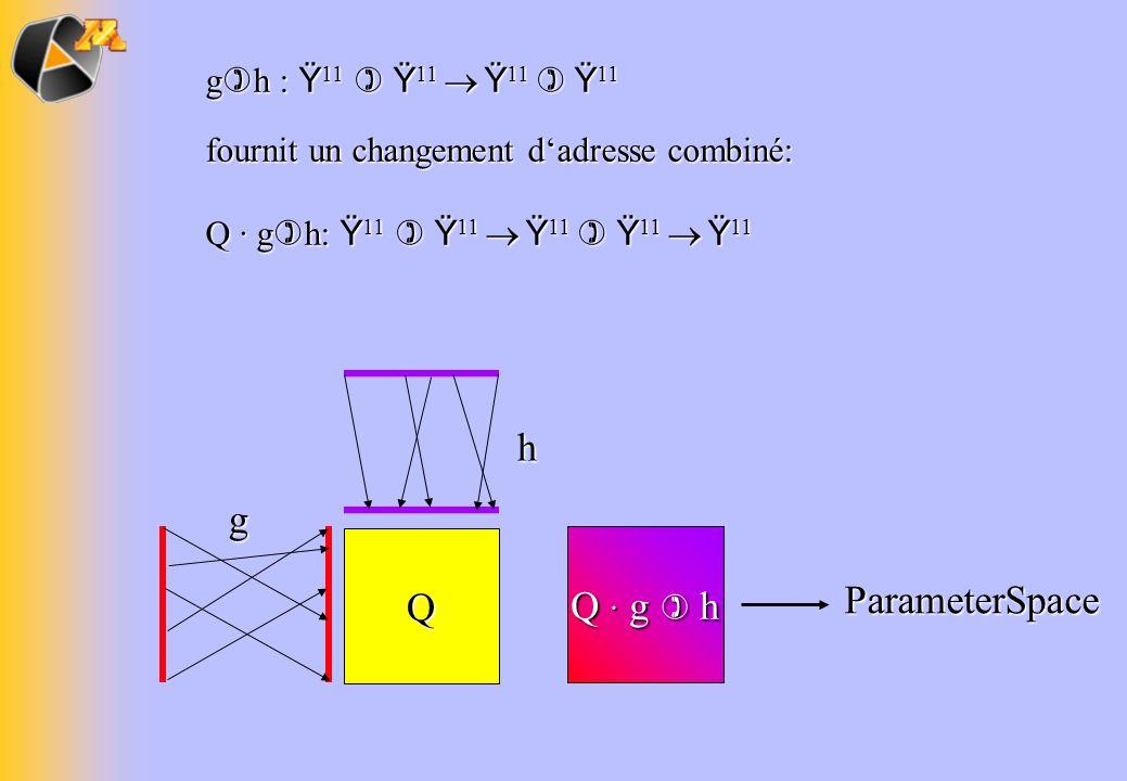 h g Q Q · g  h ParameterSpace