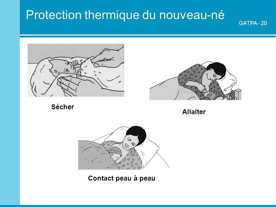 Protection thermique du nouveau-né