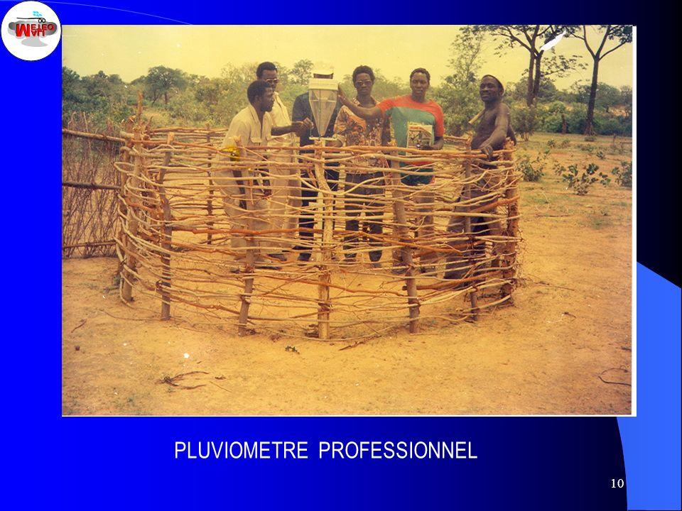 PLUVIOMETRE PROFESSIONNEL
