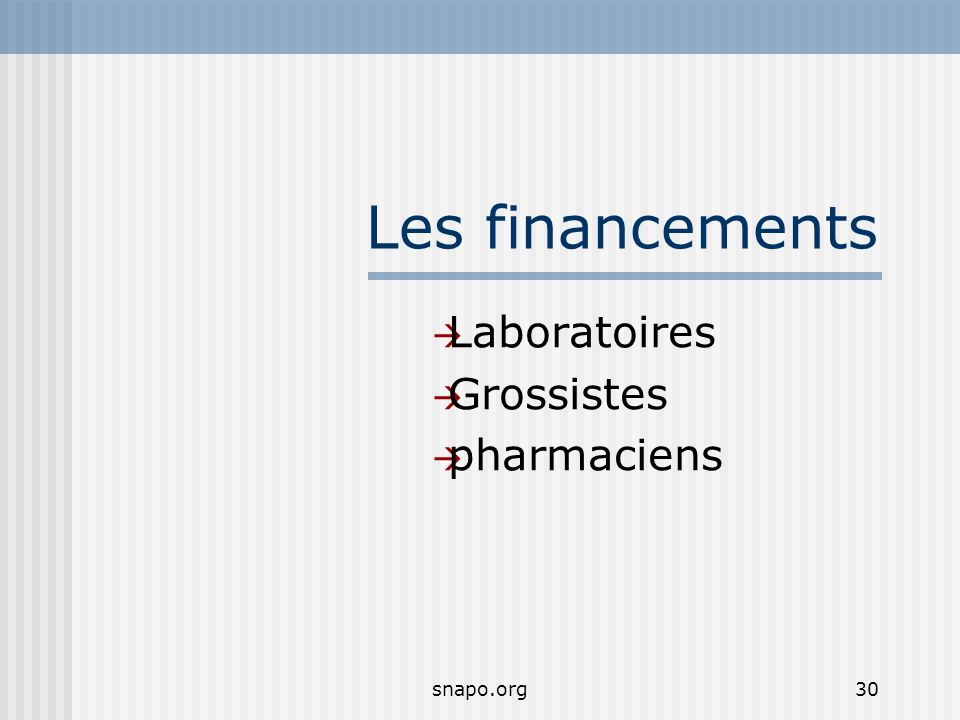 Laboratoires Grossistes pharmaciens