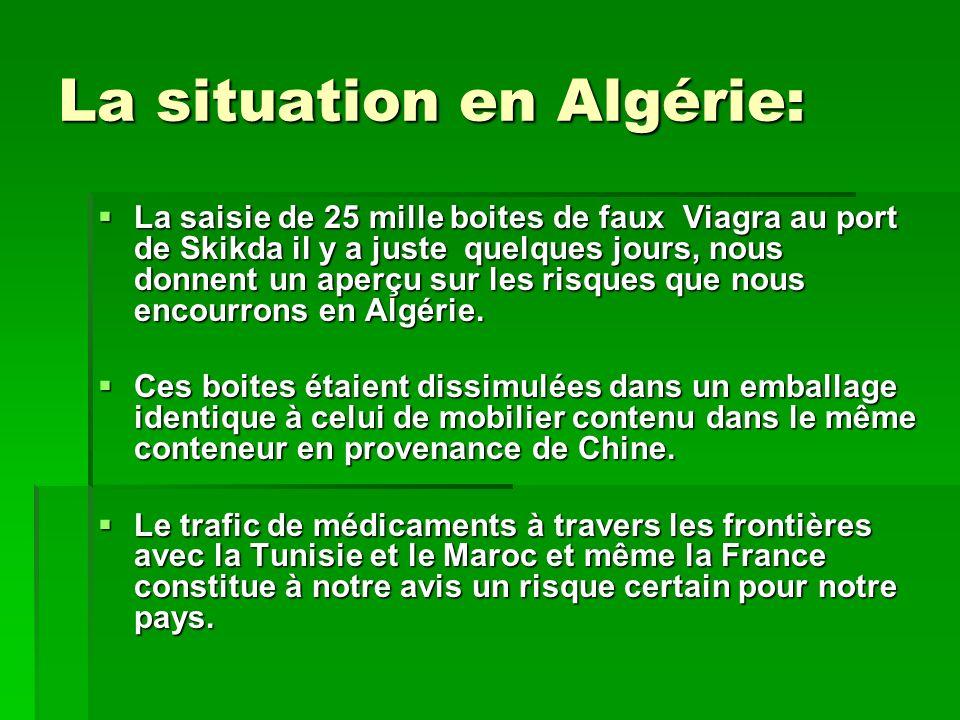 La situation en Algérie: