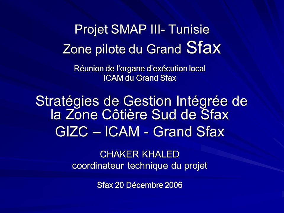 Projet SMAP III- Tunisie Zone pilote du Grand Sfax