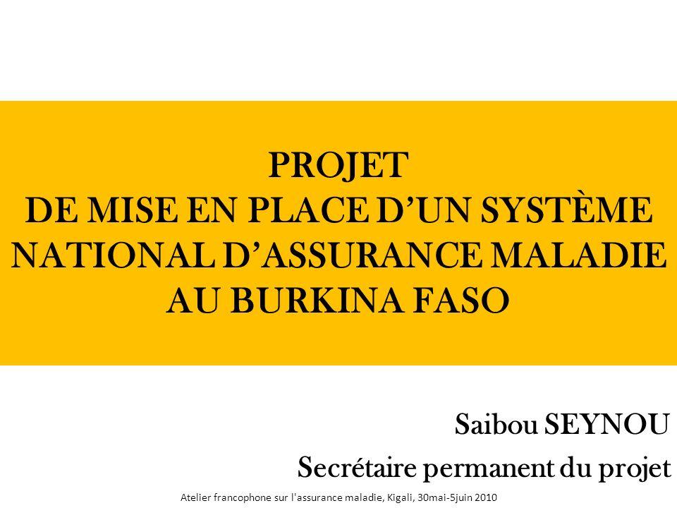 Saibou SEYNOU Secrétaire permanent du projet