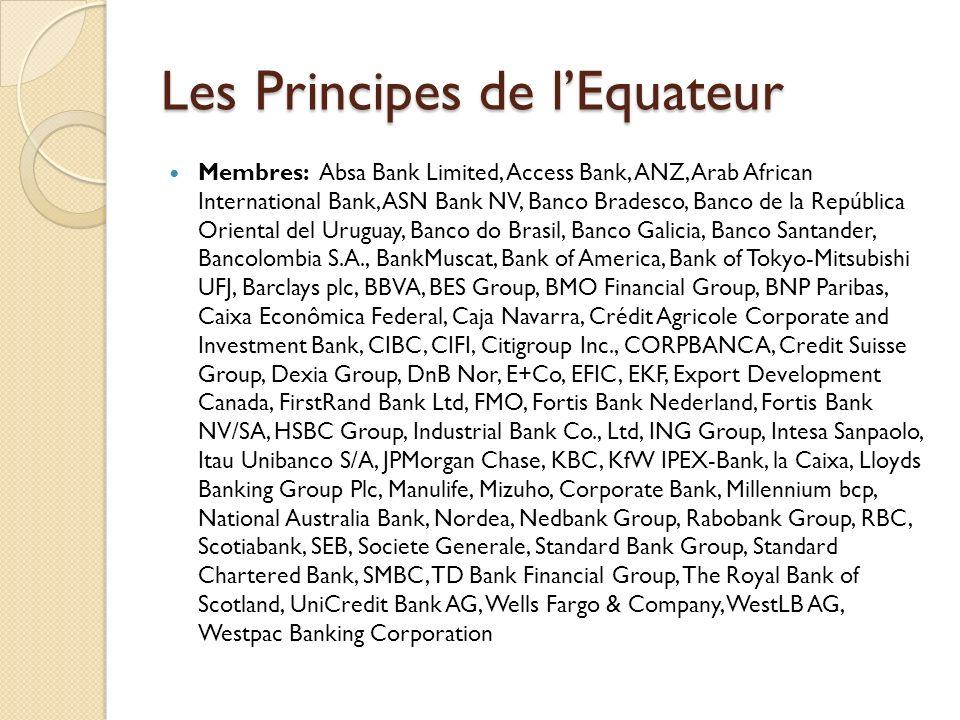 Les Principes de l'Equateur