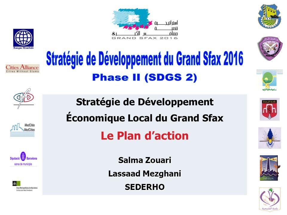 Stratégie de Développement Économique Local du Grand Sfax