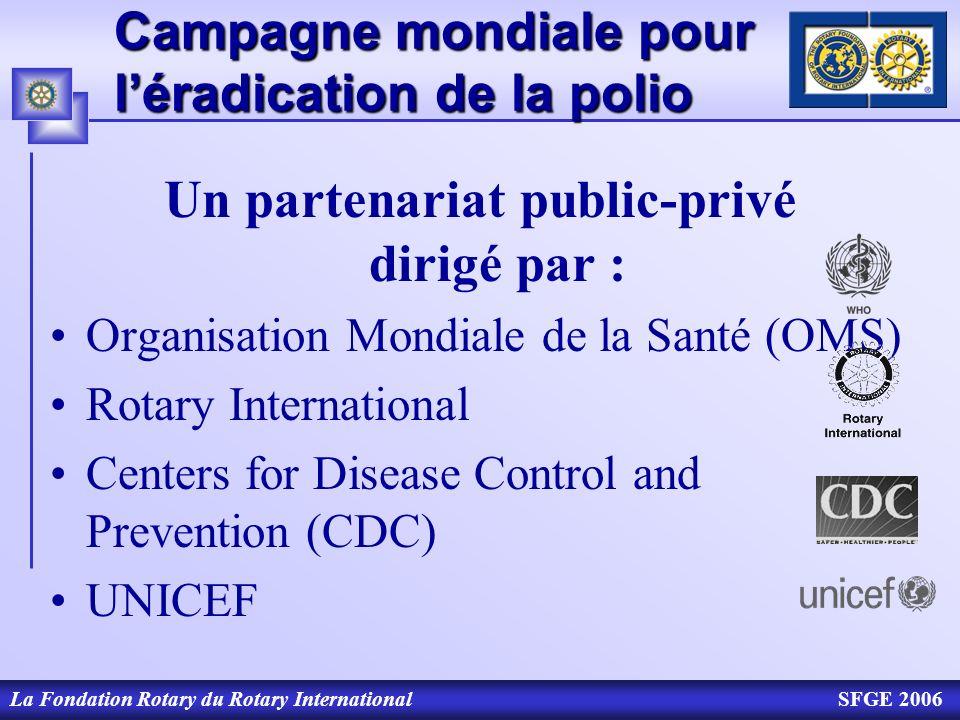 Campagne mondiale pour l'éradication de la polio