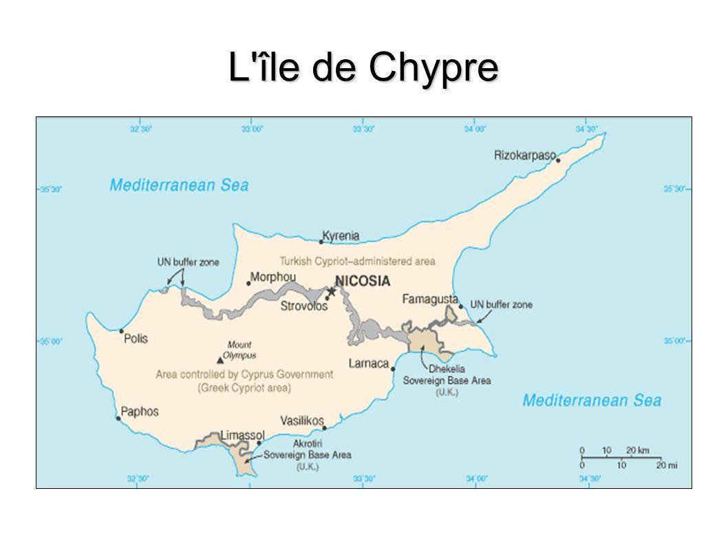 L île de Chypre