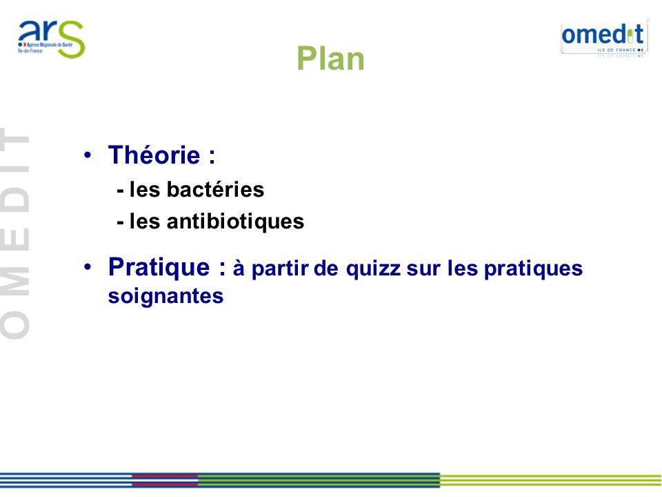 Plan Théorie : - les bactéries. - les antibiotiques.