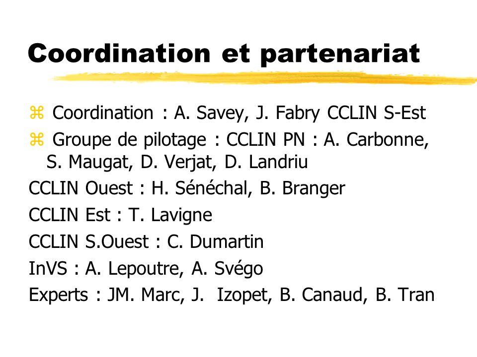 Coordination et partenariat