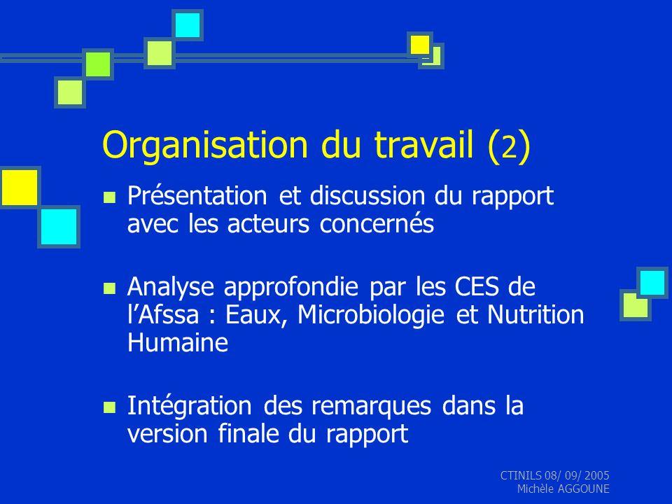 Organisation du travail (2)