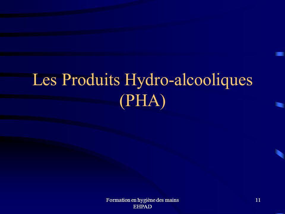 Les Produits Hydro-alcooliques (PHA)