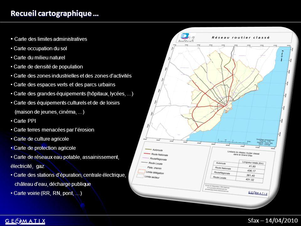 Recueil cartographique …