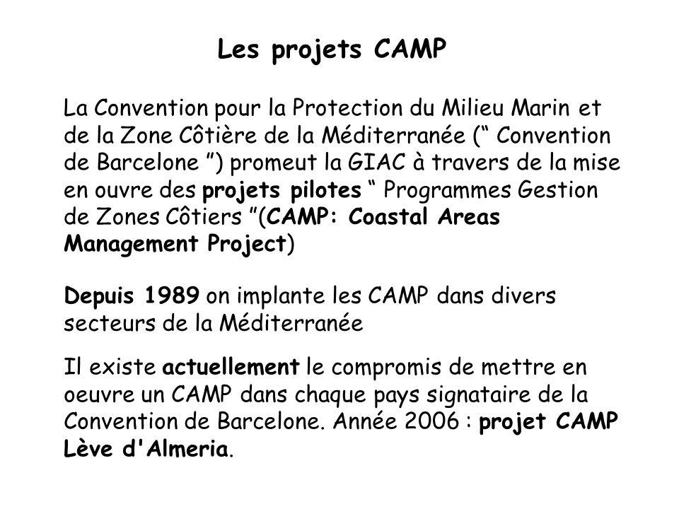 Les projets CAMP